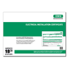 ALL - Electrical Installation Certificates - ICM18