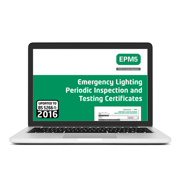 Emergency Lighting Periodic Inspection Certificate Best Design