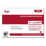 DIS - Electrical Danger Notification Certificates - XNP18