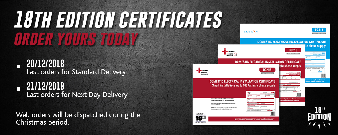 Certificates slide