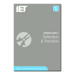 IET Guidance Note 1: Selection and Erection | 18th Edition