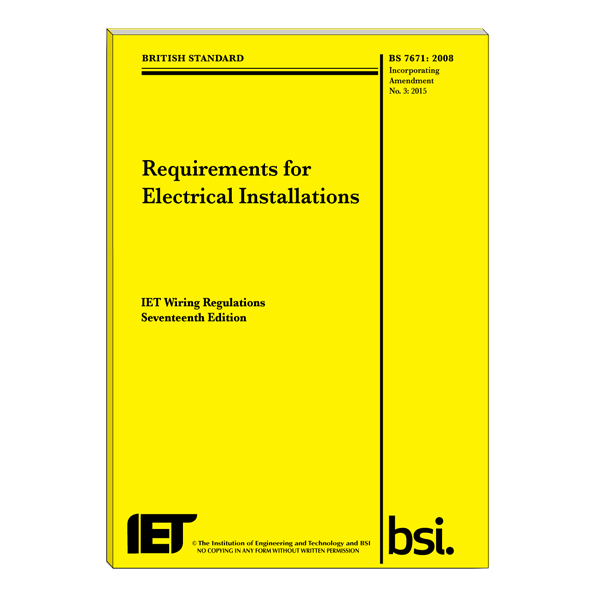 iet wiring regulations 3rd amendment rh shop niceic com iee wiring regulations tables iee wiring regulations 17th edition pdf