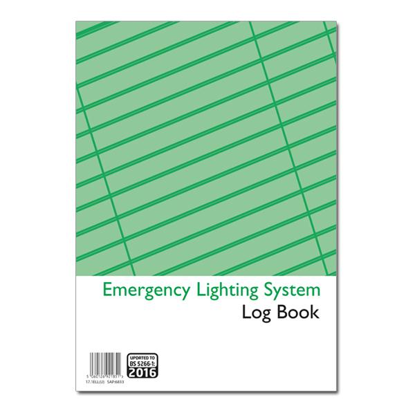 sc 1 st  NICEIC Shop & Emergency Lighting Logbook
