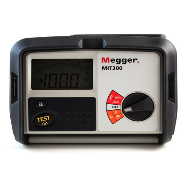 MEGGER MIT300 Insulation and Continuity Tester