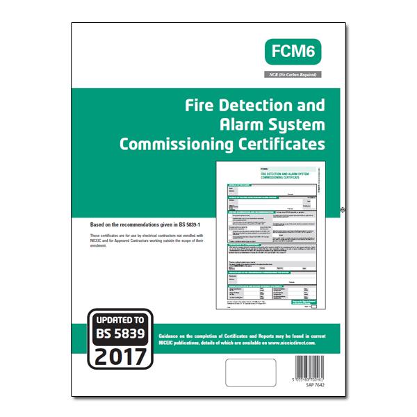 FCM6 Fire Detect & Alarm System Commis
