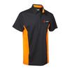 VELTUFF NICEIC Black / Orange Polo Top