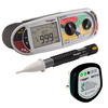 MEGGER MFT1721 + VF3 Voltage Detector + MST210 Socket Tester Bundle
