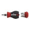WIHA Screwdriver with Bit Magazine Stubby