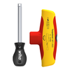 WIHA Torque screwdriver with T-handle TorqueVario®-S T electric