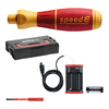 WIHA E-Screwdriver Starter Set speedE® I electric