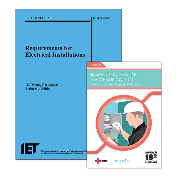18th Edition Wiring Regulations + NICEIC Inspection, Testing and ...