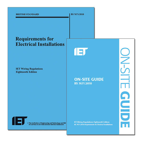18th Edition Wiring Regulations   Iet On