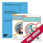 18th Edition Wiring Regulations + Site Guide + Inspection, Testing and Certification